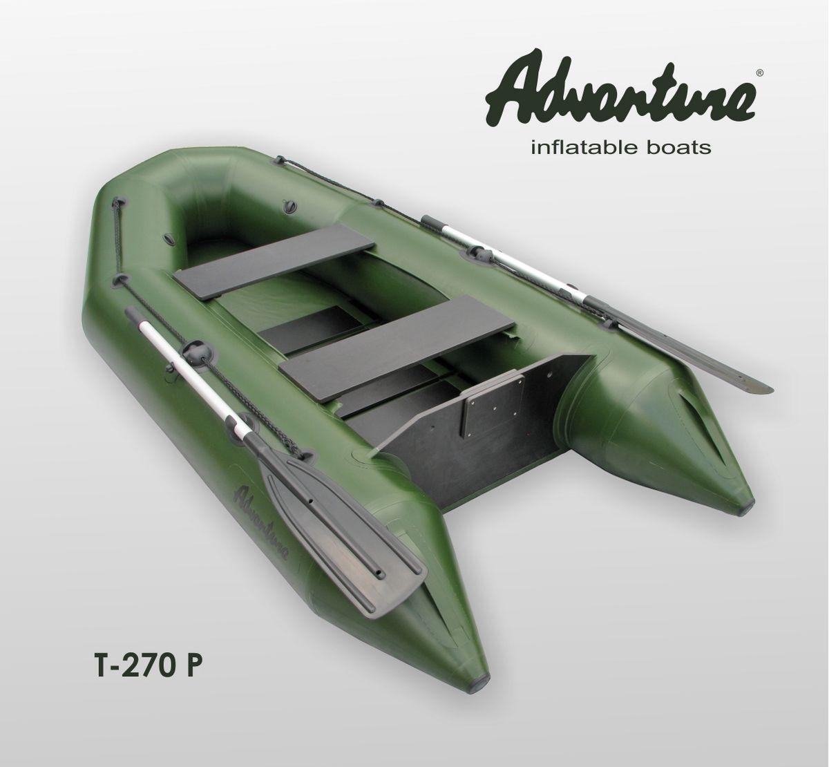 Надувная лодка Adventure T-270PN - фото 1
