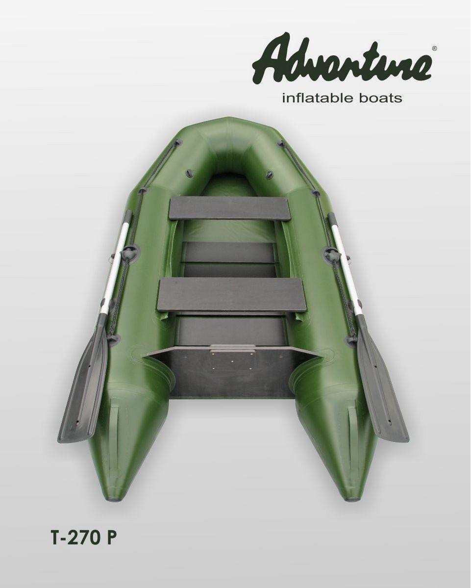 Надувная лодка Adventure T-270PN - фото 2