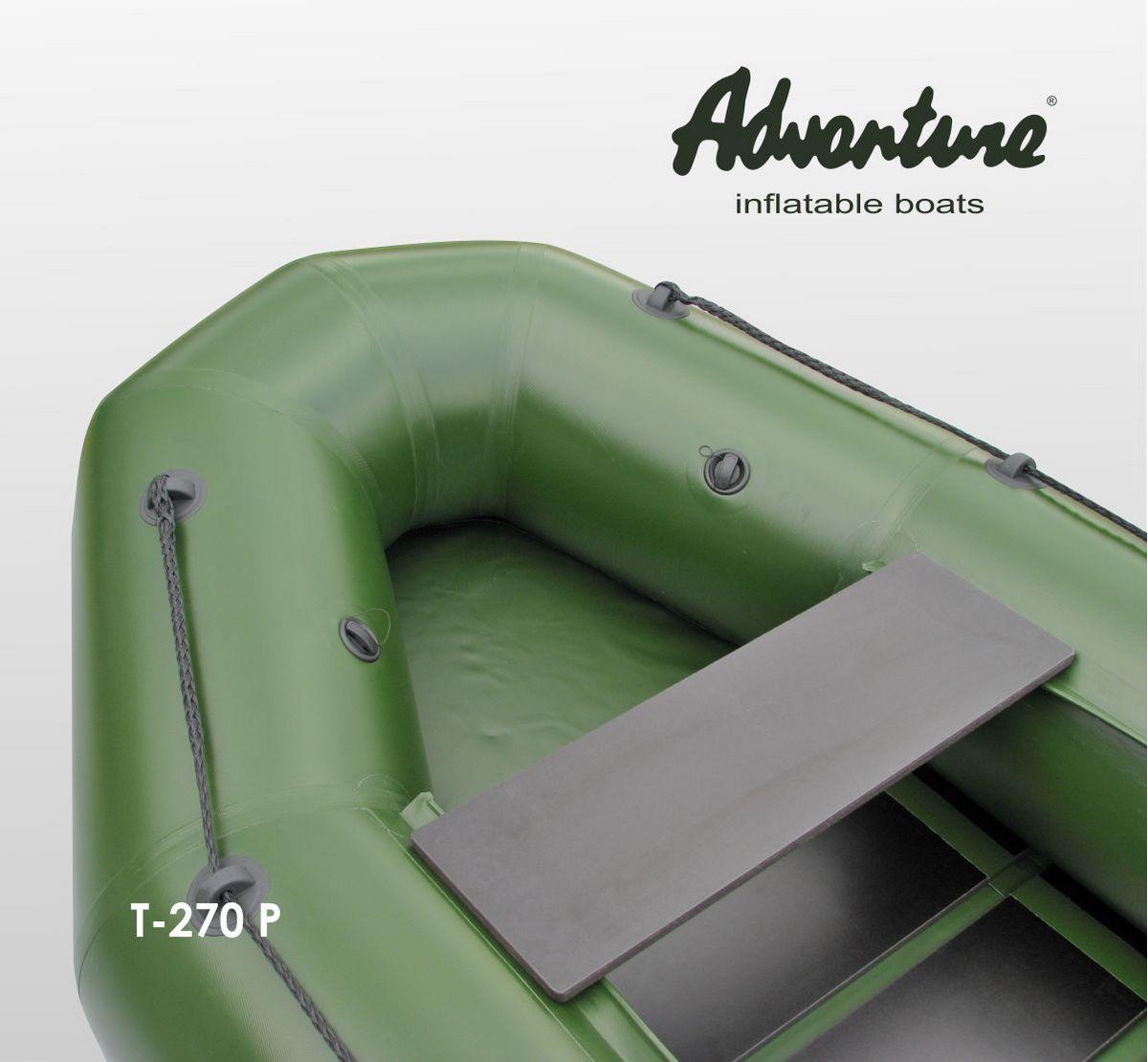 Надувная лодка Adventure T-270PN - фото 4