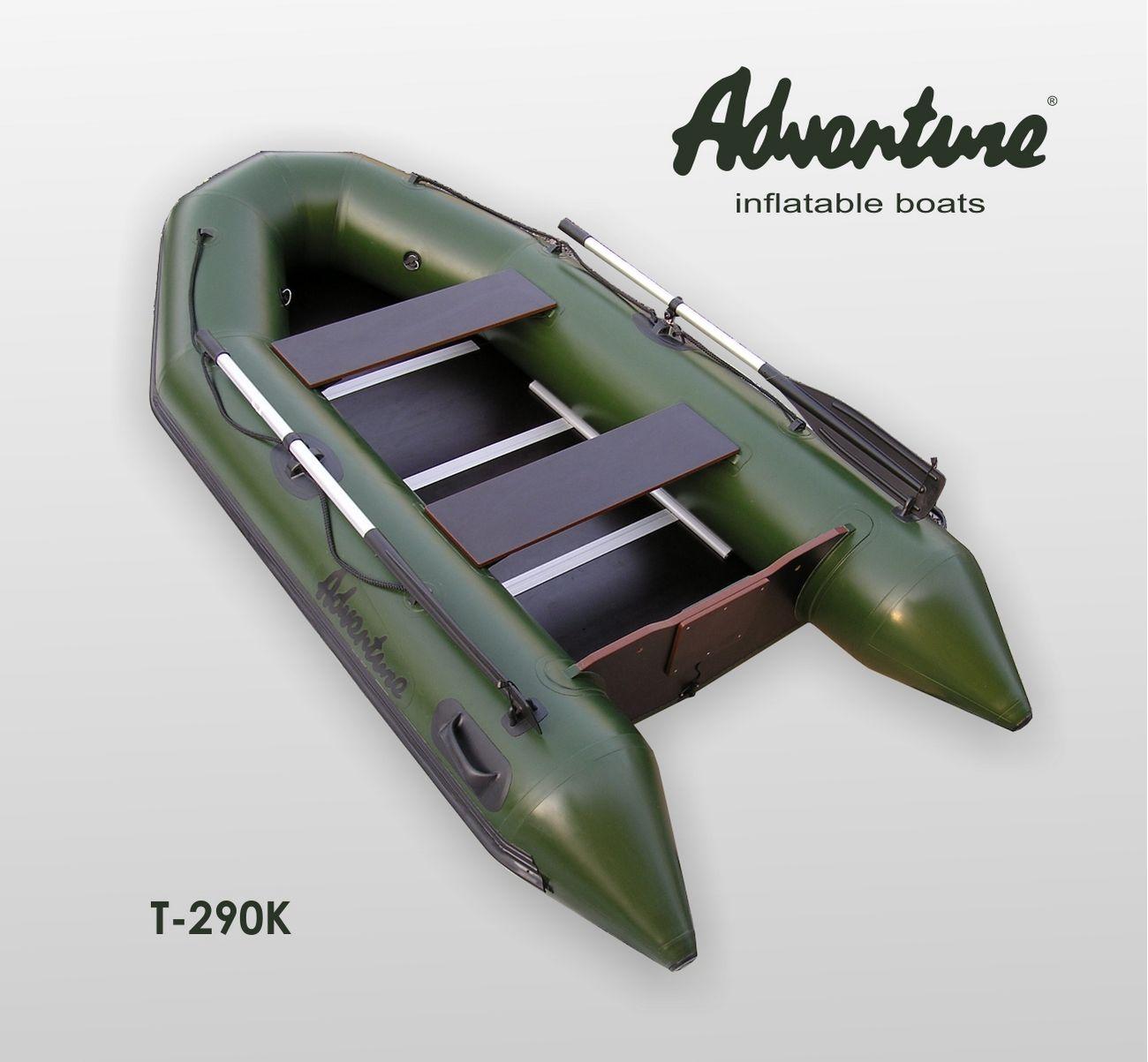 Надувная лодка Adventure Travel II T-290K - фото 1