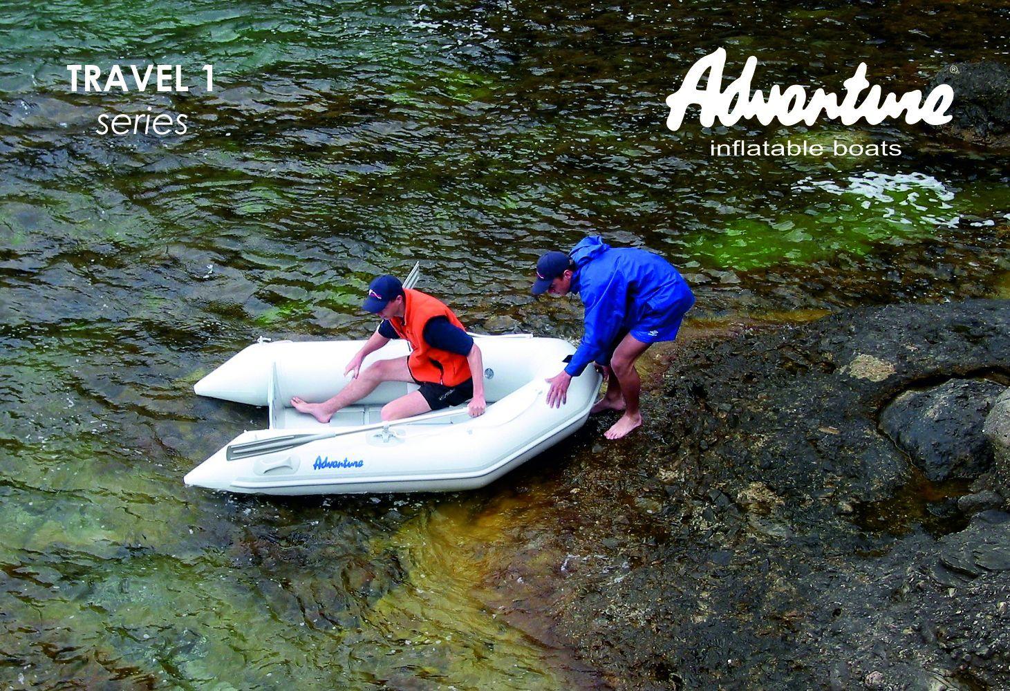 Надувная лодка Adventure Travel T-200 - фото 3