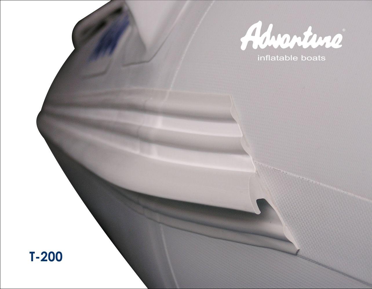 Надувная лодка Adventure Travel T-200 - фото 7