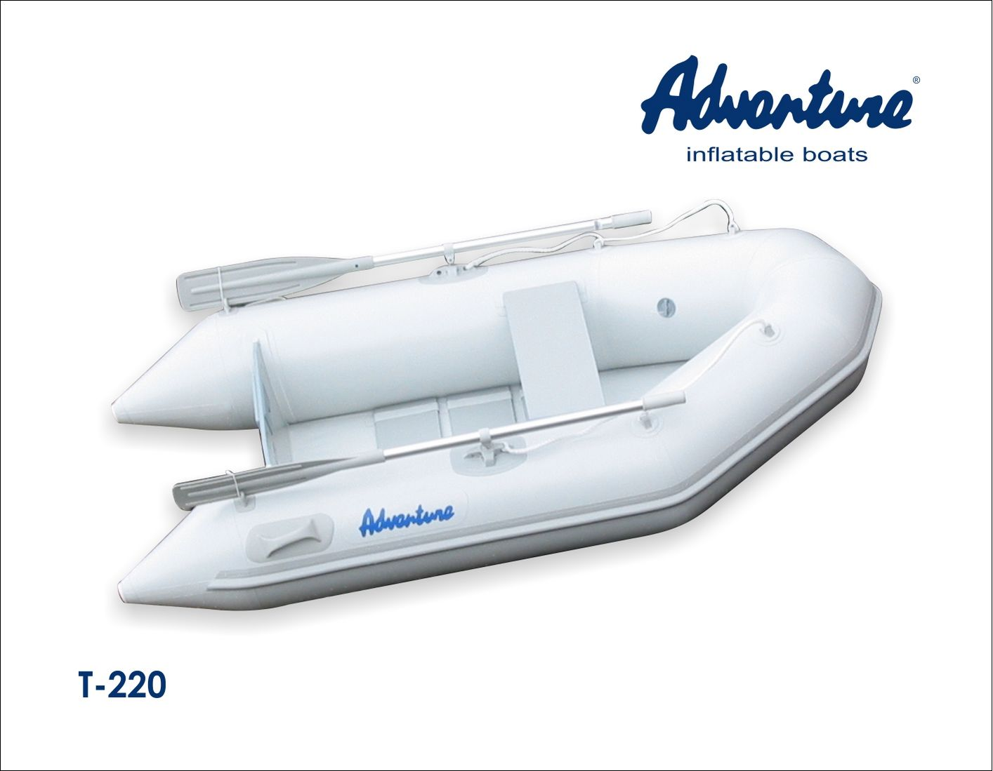 Надувная лодка Adventure Travel T-220 - фото 1