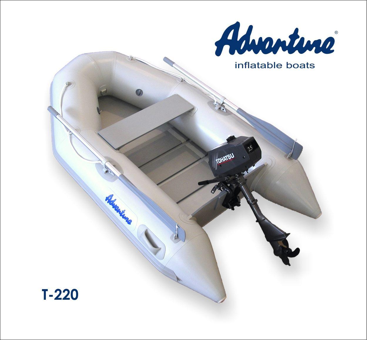 Надувная лодка Adventure Travel T-220 - фото 2