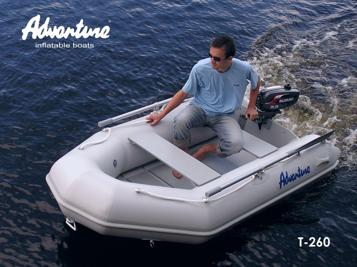 Надувная лодка Adventure Travel T-260 - фото 3