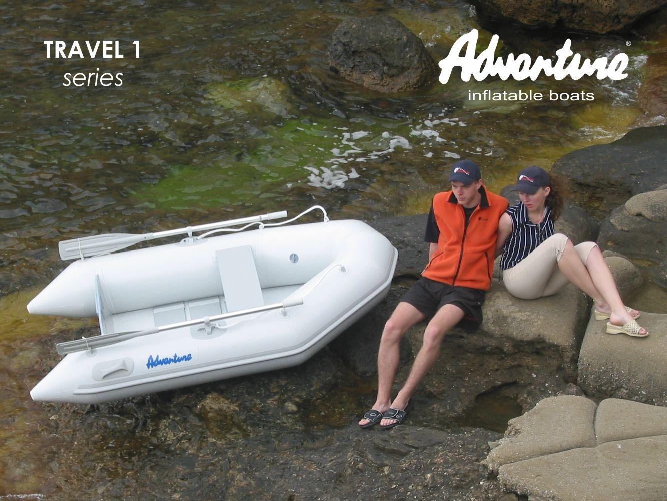 Надувная лодка Adventure Travel T-240 - фото 3
