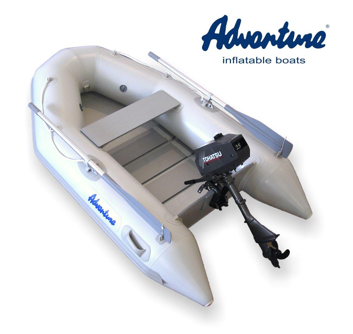 Надувная лодка Adventure Travel T-240 - фото 2