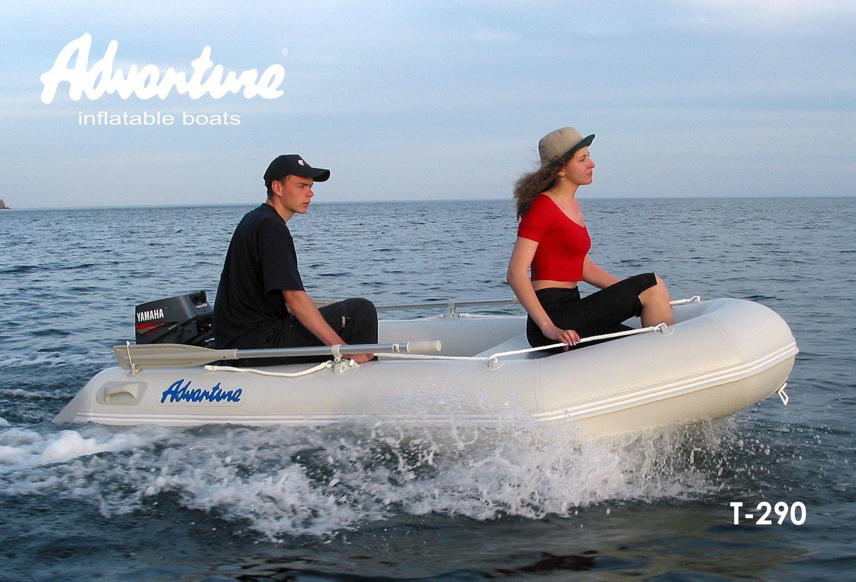 Надувная лодка Adventure Travel T-290 - фото 8