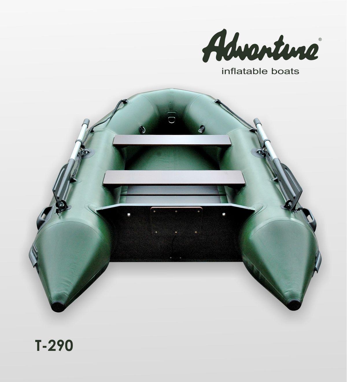 Надувная лодка Adventure Travel T-290 - фото 2