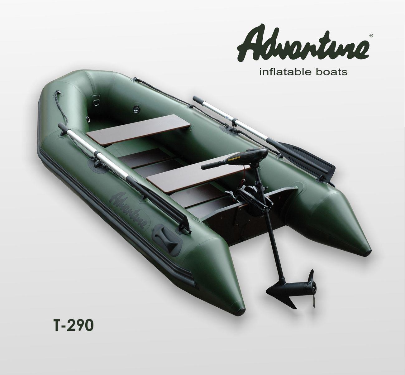 Надувная лодка Adventure Travel T-290 - фото 3