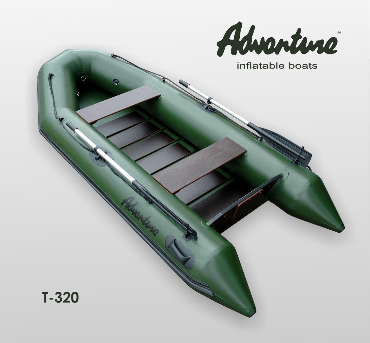 Надувная лодка Adventure Travel T-320 - фото 1