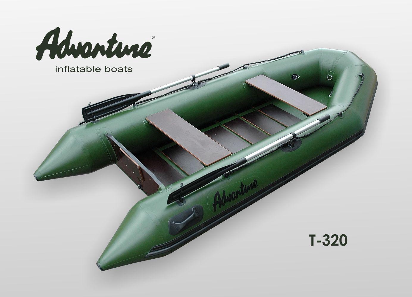 Надувная лодка Adventure Travel T-320 - фото 3