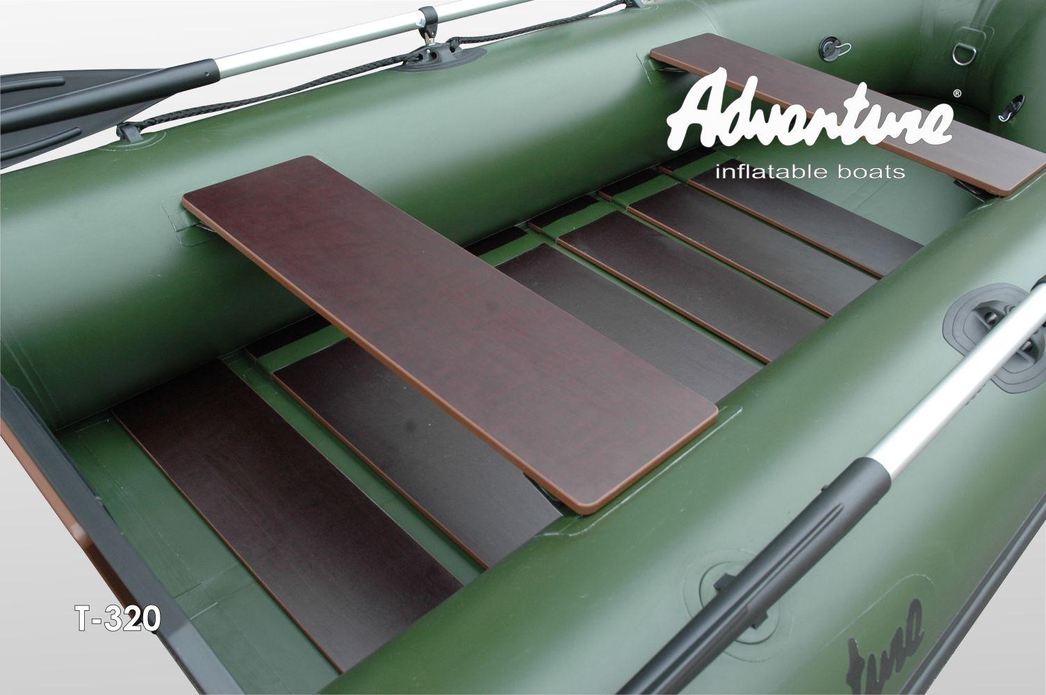 Надувная лодка Adventure Travel T-320 - фото 4