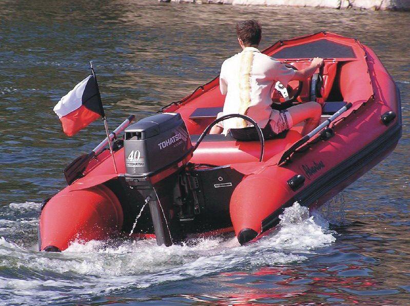 Надувная лодка Adventure Master II M-440 - фото 7