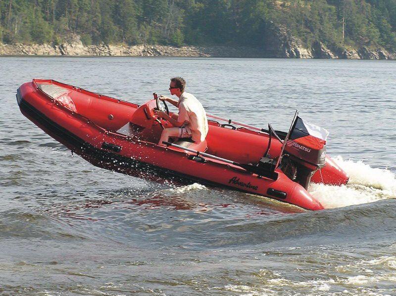 Надувная лодка Adventure Master II M-440 - фото 8