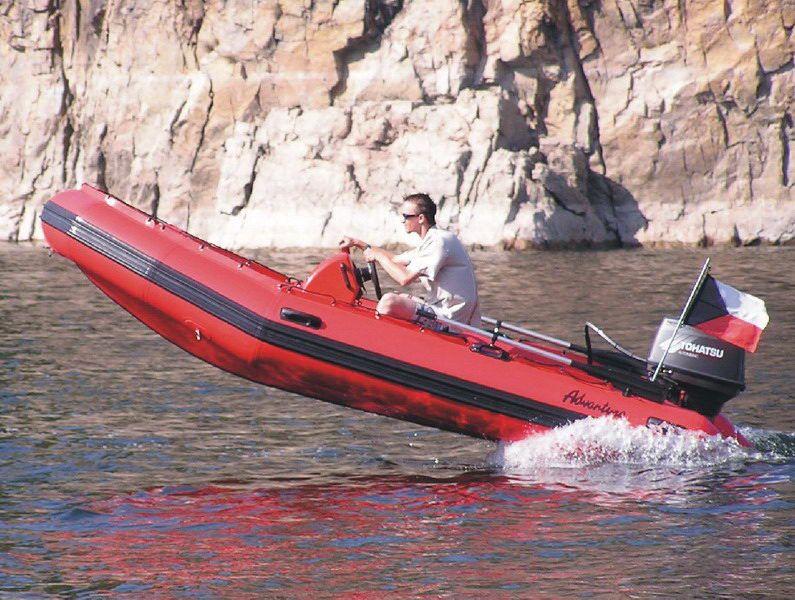 Надувная лодка Adventure Master II M-440 - фото 9