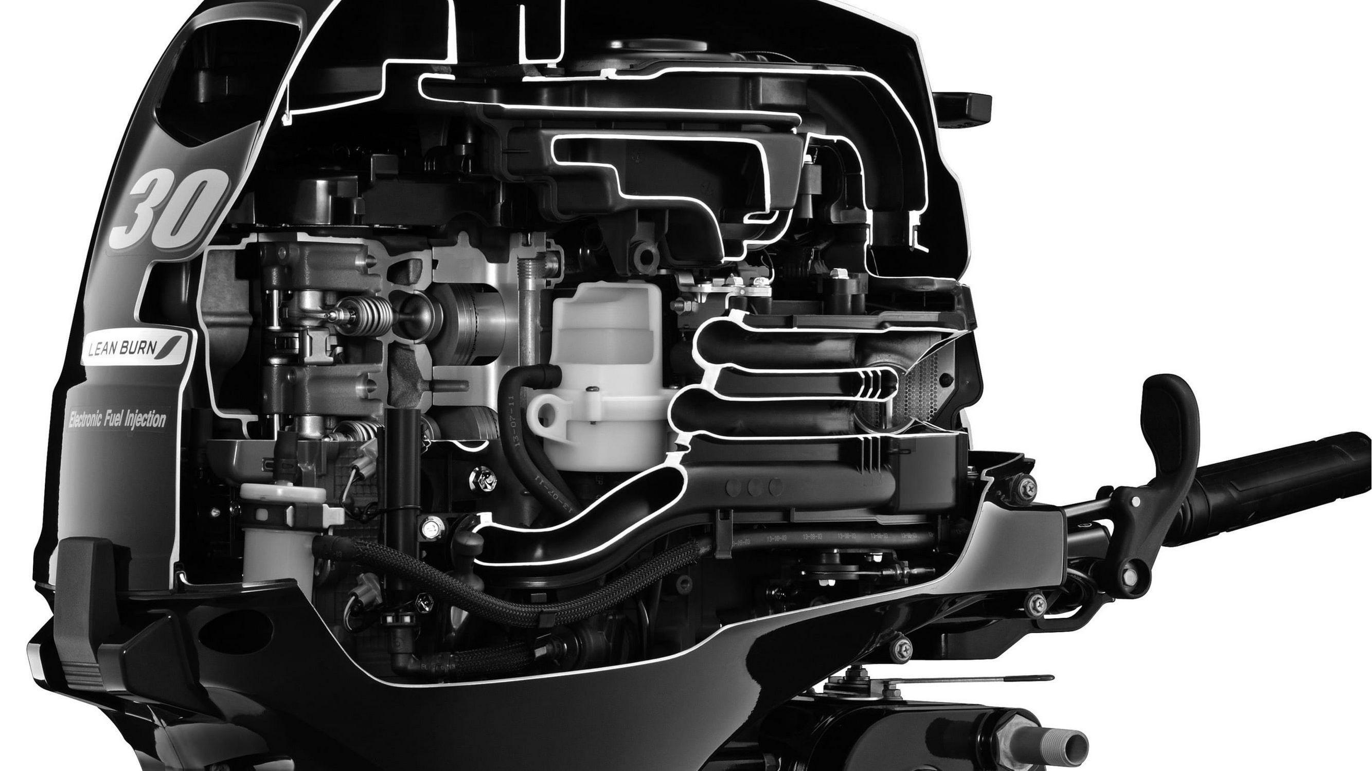 Лодочный мотор Suzuki DF30ATS - фото 3