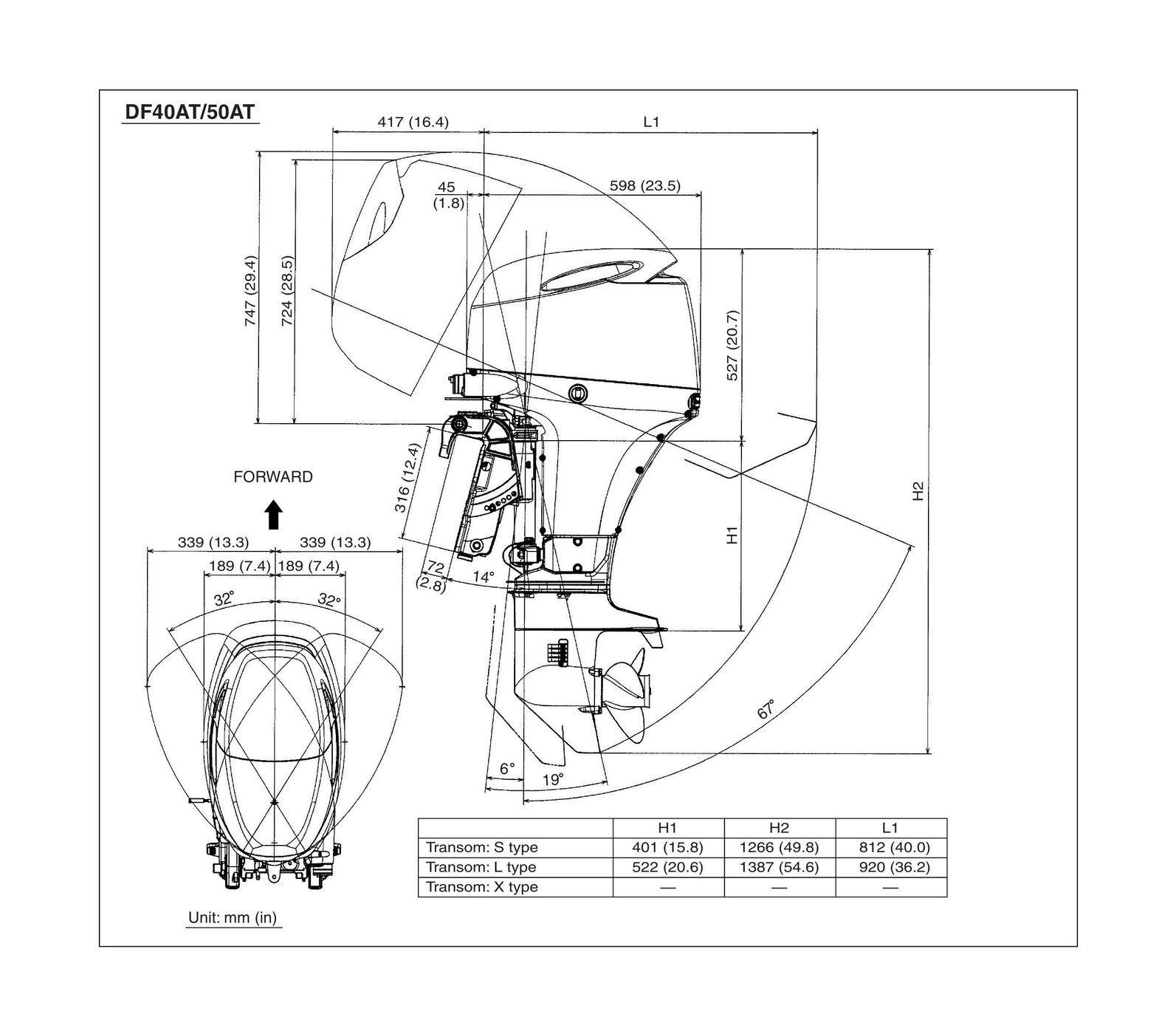 Лодочный мотор Suzuki DF40ATL - фото 3
