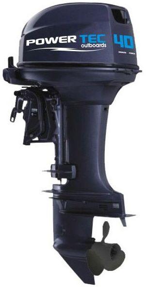 Лодочный мотор Powertec 40 AERTL - фото 1