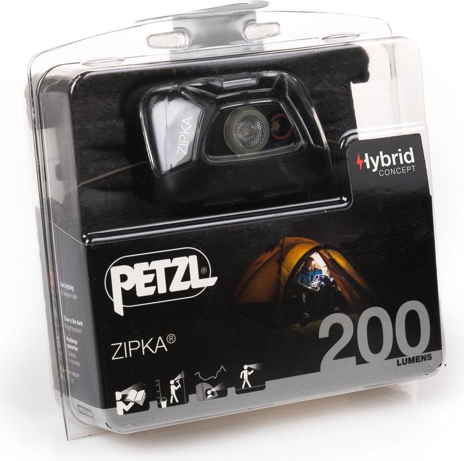 Налобный фонарь Petzl ZIPKA Hybrid - фото 11