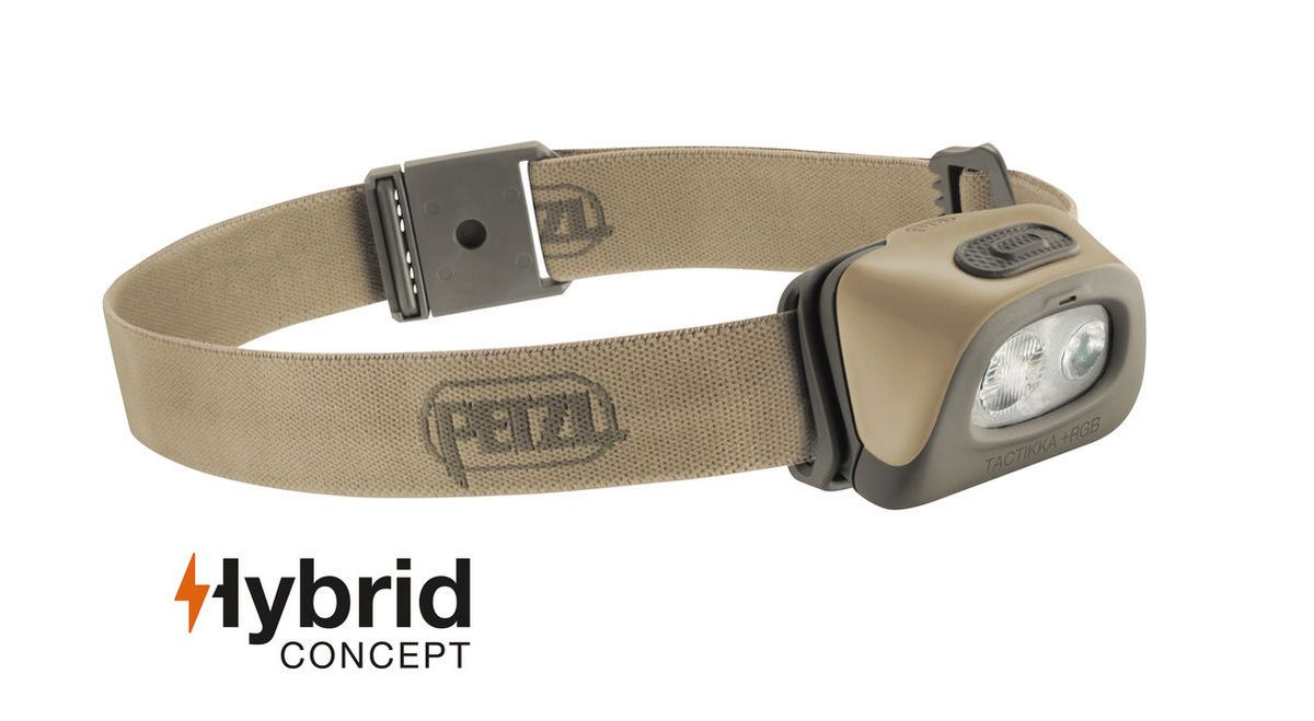 Налобный фонарь Petzl TACTIKKA + RGB Hybrid
