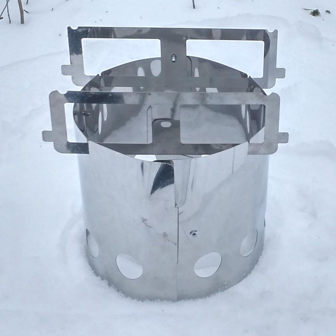 Печка щепочница BM Easy Hike Sliver BM - фото 2