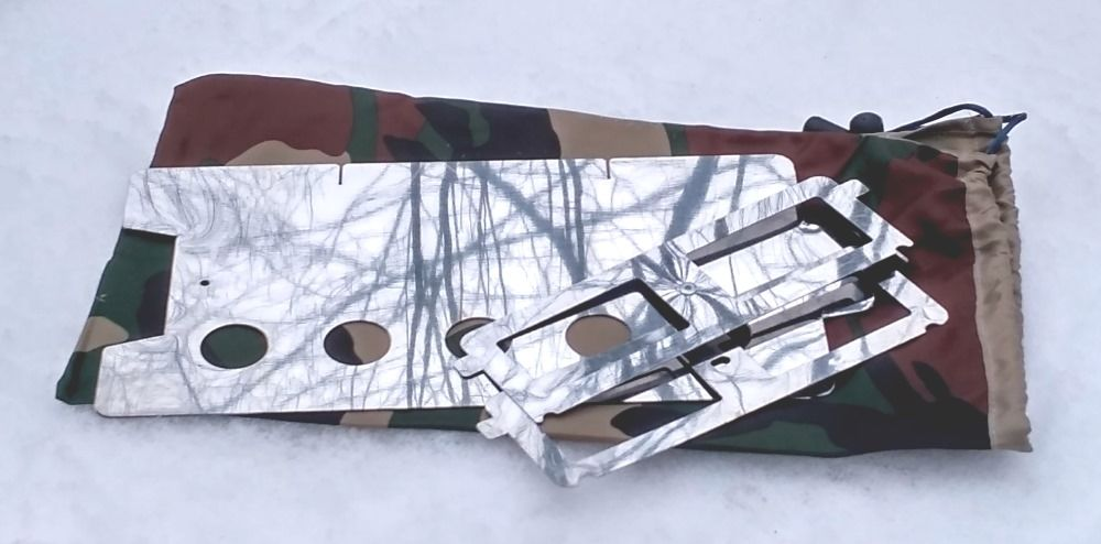 Печка щепочница BM Easy Hike Sliver BM - фото 5