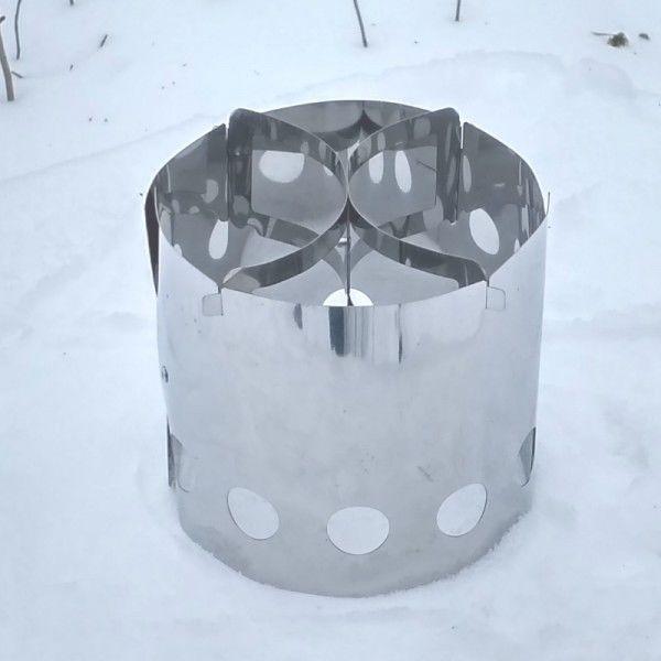 Печка щепочница BM Easy Hike Sliver BM - фото 3