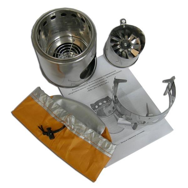 Турбопечка щепочница BM Easy Hike Airwood Light+ BM - фото 2