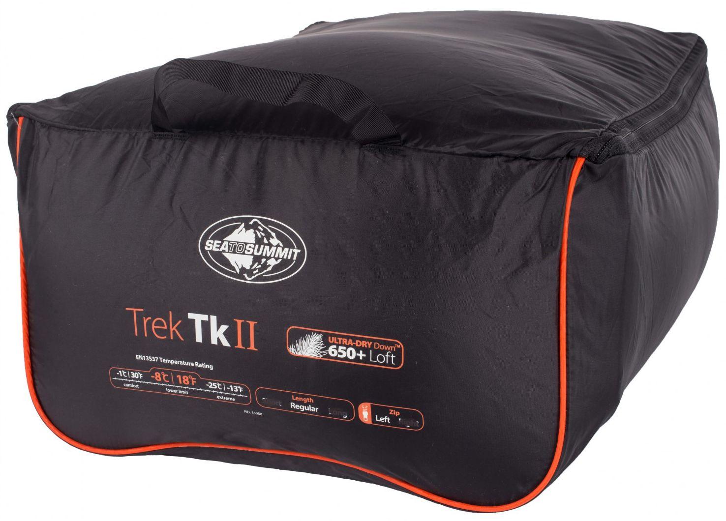 Спальный мешок Sea To Summit Trek Tk II Reg Wide - фото 8