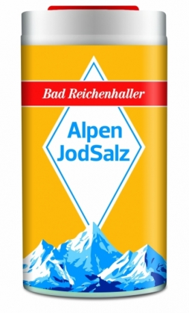 Альпийская соль AlpenJodSalz (2 шт.)