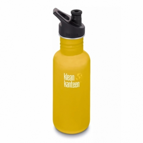 Фляга Klean Kanteen Classic Sport Cap Lemon Curry Matt 532 ml