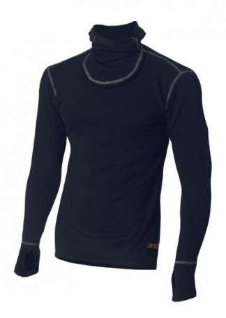 Огнестойкое худи Aclima Work X-Warm Hood Sweater DarkNavy L