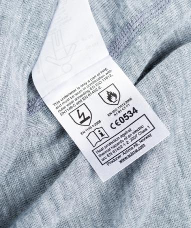 Огнестойкие термокальсоны Aclima Work X-Safe Longs GreyMelange XL