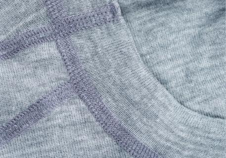 Огнестойкая термофутболка Aclima Work X-Safe Shirt Crew Neck GreyMelange XL