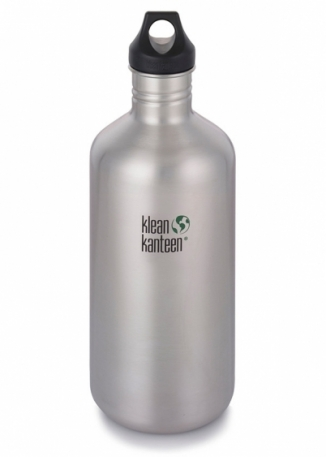Фляга Klean Kanteen Classic Brushed Stainless 1900 ml