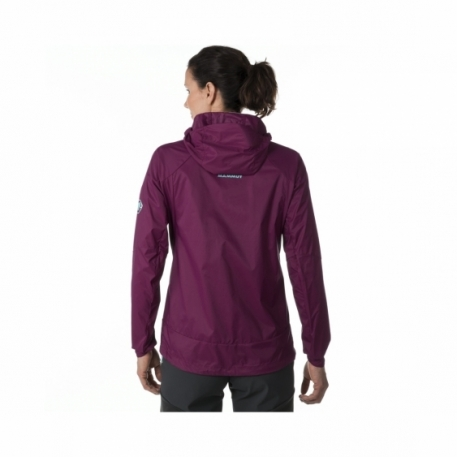 Куртка жен. Mammut RUNBOLD WB HOODED JACKET WOMEN amarante M