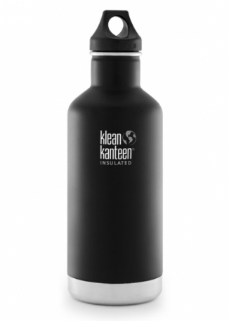 Термофляга Klean Kanteen Classic Vacuum Insulated Shale Black (matt) 946 ml