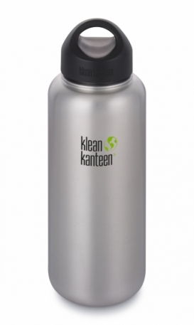 Фляга Klean Kanteen Wide Brushed Stainless 1182 ml