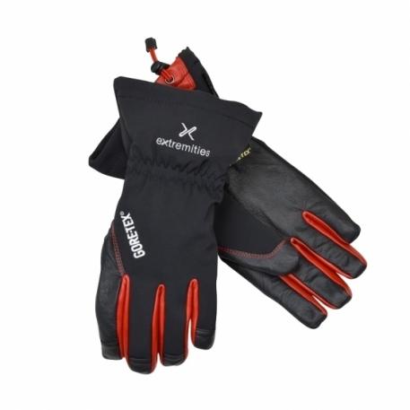 Непромокаемые перчатки Extremities Glacier Glove GTX Black/Red L
