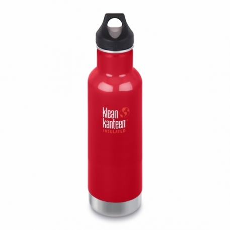 Термофляга Klean Kanteen Classic Vacuum Insulated Mineral Red 592 ml