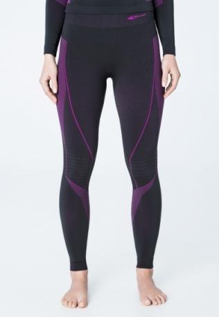Термокальсоны жен. Accapi Polar Bear Long Trousers Woman 934 black/cyclamen XS/S