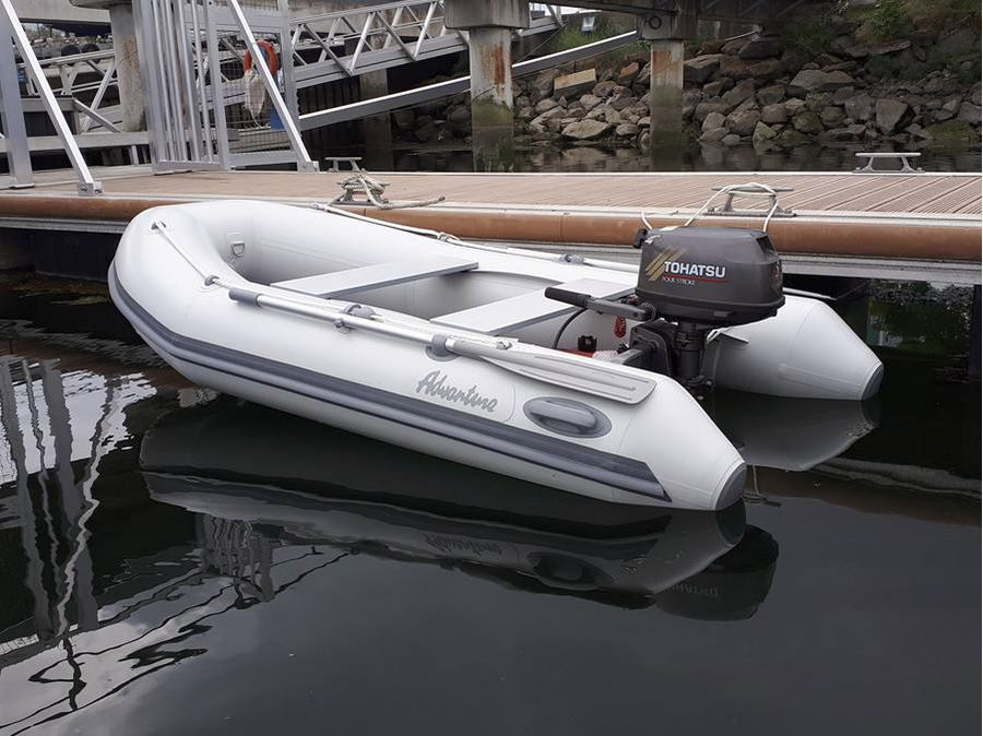 Надувная лодка Adventure Vesta V-290 RIB