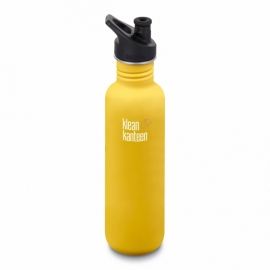 Фляга Klean Kanteen Classic Sport Cap Lemon Curry Matt 800 ml