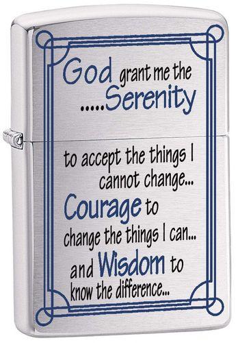 Зажигалка Zippo Serenity Prayer