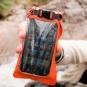 Мини гермочехол Aquapac Stormproof™ для телефона - оранжевый - фото 4