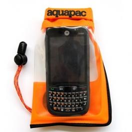 Маленький гермочехол Aquapac Stormproof™ для телефона - оранжевый