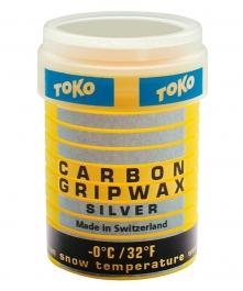 Toko Carbon GripWax silver 32g