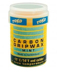 Toko Carbon GripWax mint 32g