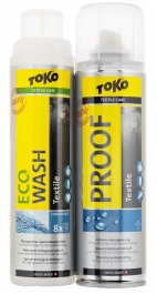 Пропитка и стирка Toko Duo-Pack Textile Proof & Eco Textile Wash